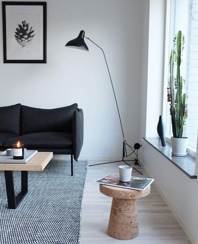 Pin By Atelier Sthlm On Scandinavian Interiors Mix Floor Lamps Living Room Nordic Living Room Indoor Floor Lamps