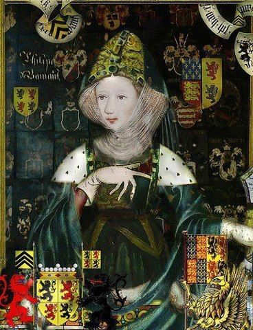 Philippa of Hainault, Queen of England