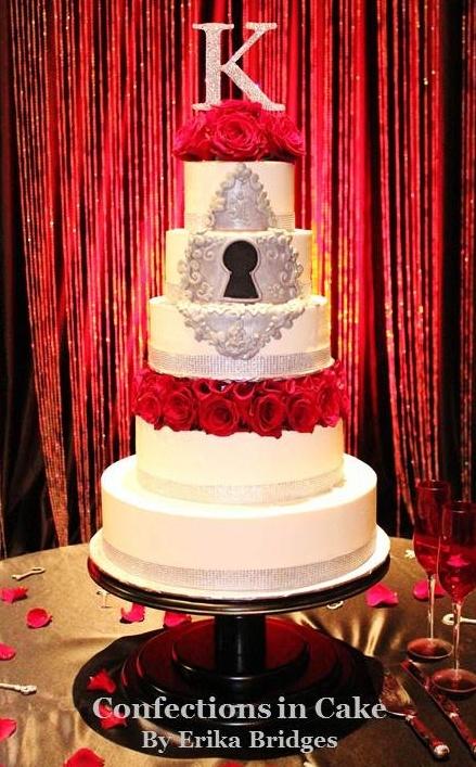 63 best key to my heart wedding images on pinterest wedding stuff keyhole key to my heart themed wedding cake i like the keyhole junglespirit Image collections