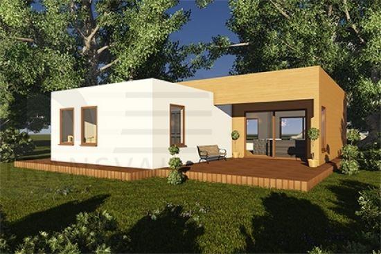 Casa de lemn Jerome modele case lemn Casa in legno Jerome - modelli case in legno Jerome wooden house project Maison en bois Jerome www.transval.ro