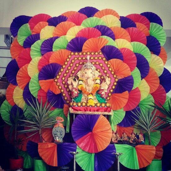 30 Best Ganapati Decoration Images On Pinterest Ganapati Decoration Ganesh And Ganesha