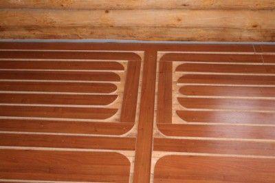 Можно ли делать монтаж напольной системы обогрева под ламинат на старый деревянный пол