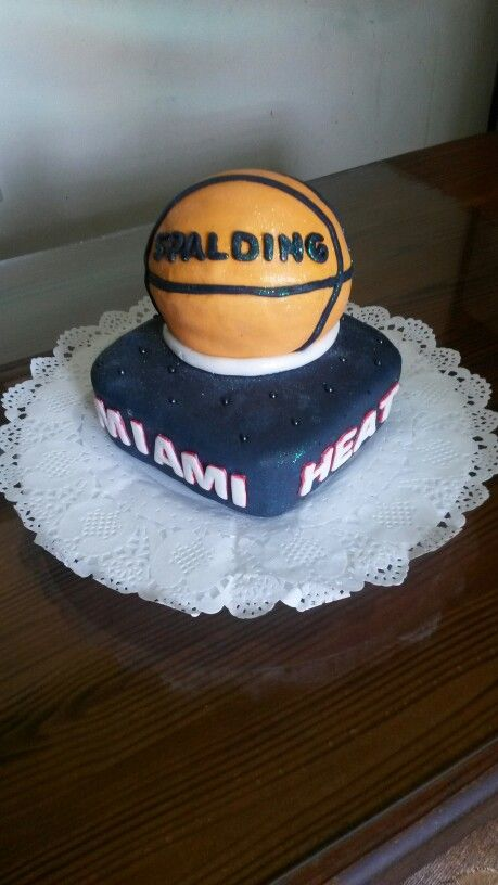 Torta Basquet. Miami Heat