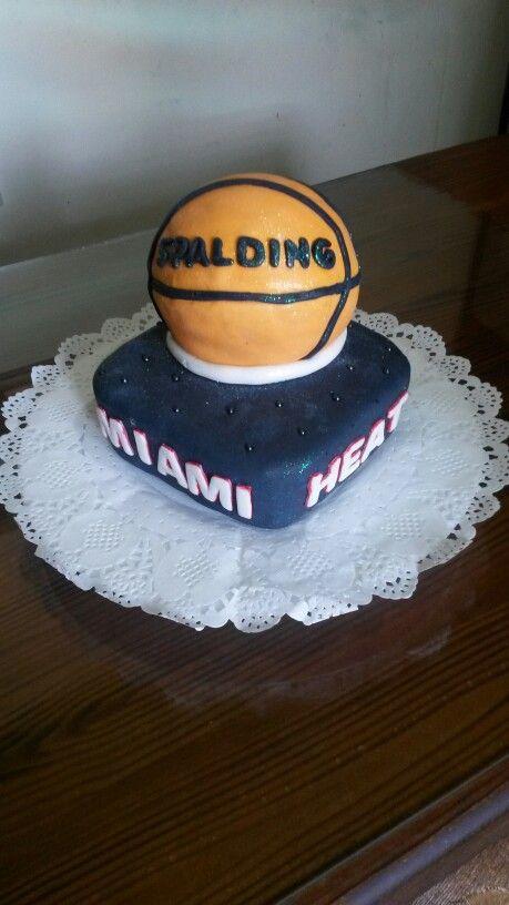 Torta Basquet. Miami Heat