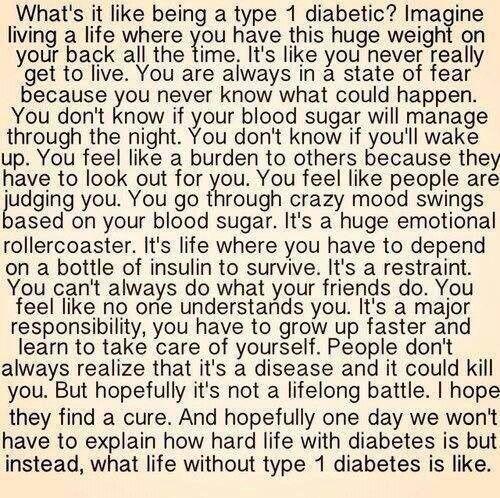 Diabetes Quotes: 23 Best T1D Care Images On Pinterest
