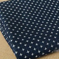 150 см x 100 см синий крест хлопчатобумажные ткани швейные лоскутного полотна диван обивочные ткани для подушки tecidos в метро