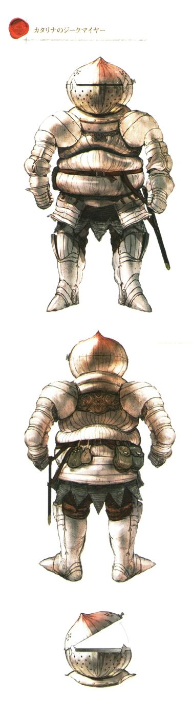 Catarina Warrior - Dark Souls I & II  In cazadores, the House of Dandelion has it's humble champions don such armor.