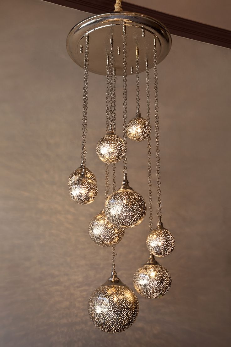 A New Custom Moroccan Chandelier Made For Unique Client Perfectly Balanced Www