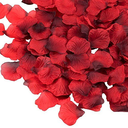Supla 3000 Pcs Dark Red Silk Rose Petals 2 To 2 1 4 Wed Https Www Amazon Com Dp B075k5z8l4 Ref Cm Sw R Pi Mini Roses Silk Rose Petals Artificial Flowers