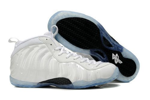 all white foamposites for sale