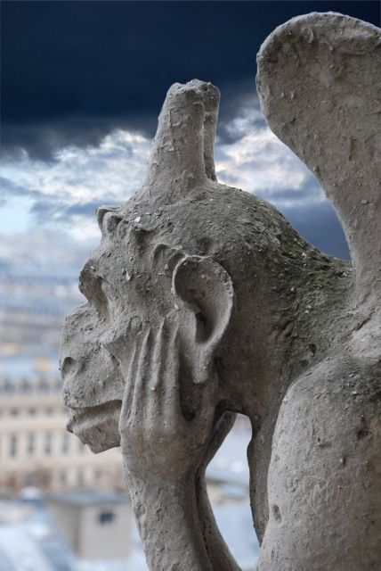 Songe : gargouille de Notre-Dame de Paris