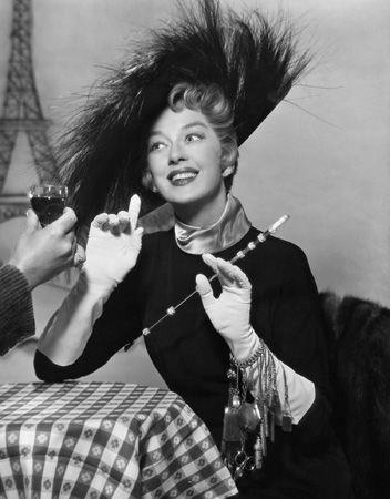 Rosalind Russell as the incomparable Auntie Mame!