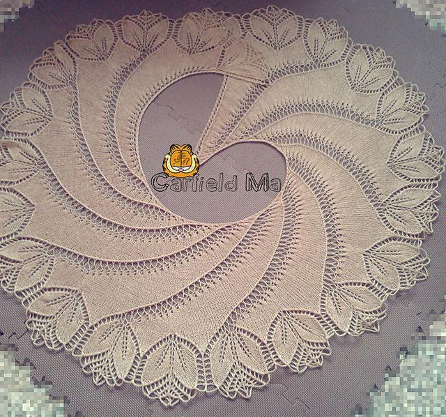 Ravelry: Begonia Swirl free pattern