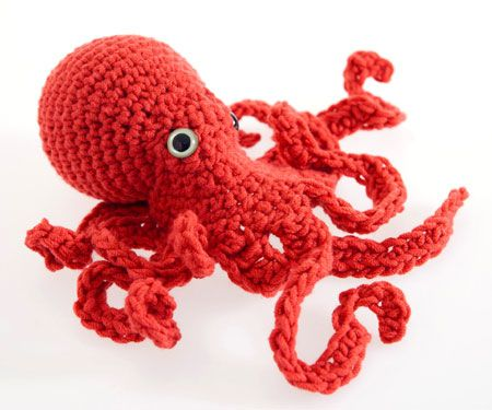 Adorable octopus with more realistic anatomy