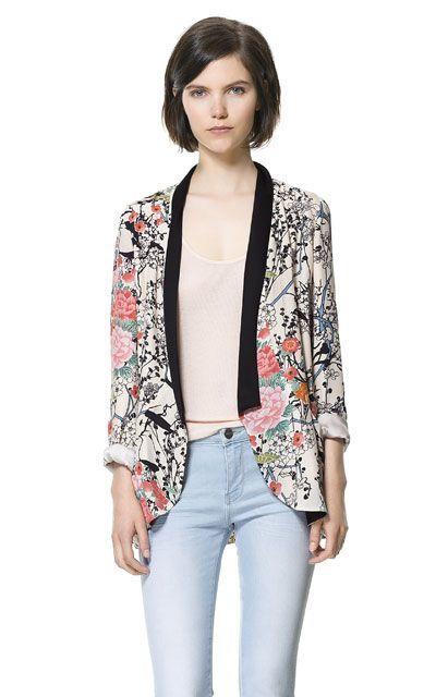 Best 25 Printed Blazer Ideas On Pinterest Floral Blazer