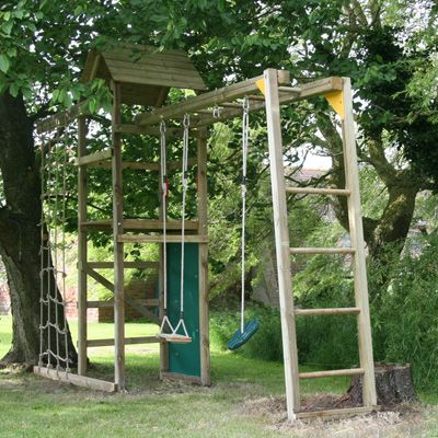 Monkey Bars Accessory - Suitable for all models except ATJE310 - Climbing-Frames-Etc.co.uk