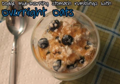 Yogurt parfaits and fruit salads arent your only cool, refreshing options for breakfast. Overnight oats are like oatmeal cookie dough  and theyre healthy for you too! Get the recipe here.