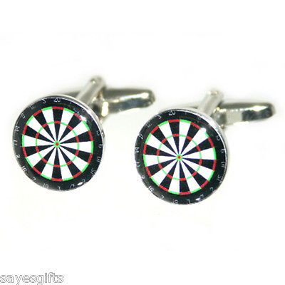 High #quality #round dart board #cufflinks, View more on the LINK: http://www.zeppy.io/product/gb/2/350634058402/