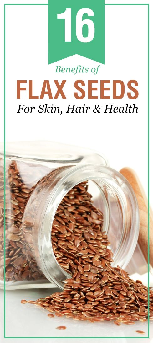 16 Surprising Benefits of Flax Seeds For Skin, Hair and ...