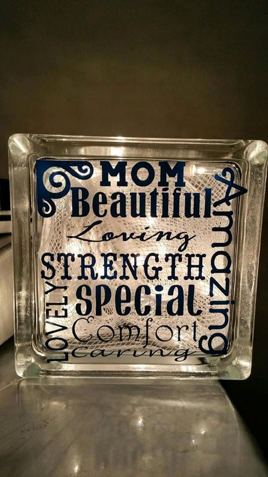 Deco Block Craft Mothers Day