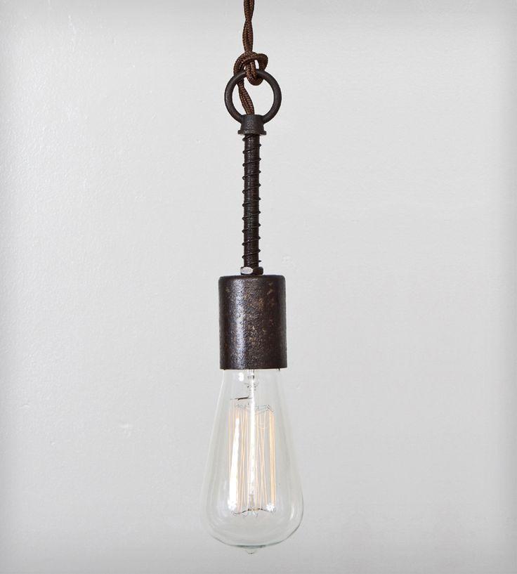 Industrial Spring Pendant Light | Home Lighting | Flea Market Rx | Scoutmob Shoppe | Product Detail