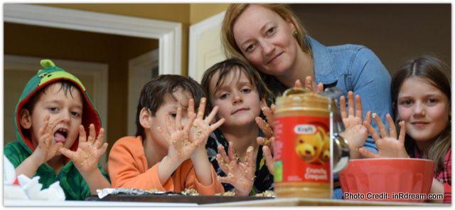 After School Power-Ups: Peanut Butter Snack Bites *No Bake Recipe*