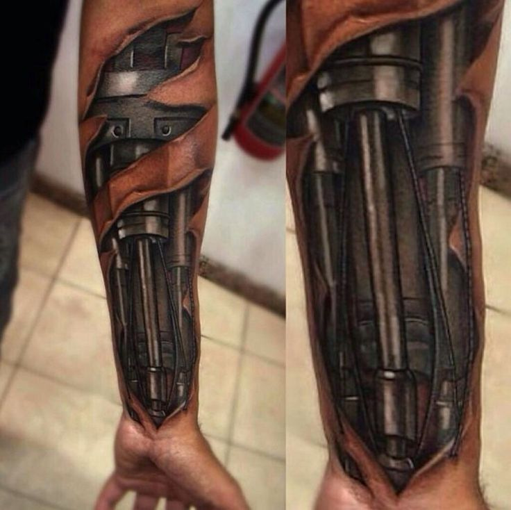 Mechaniker Tattoo