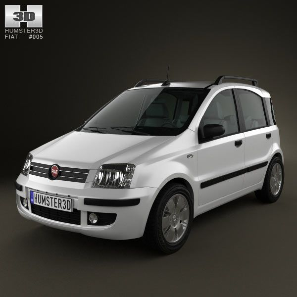 Fiat Panda 3d model from humster3d.com. Price: $75