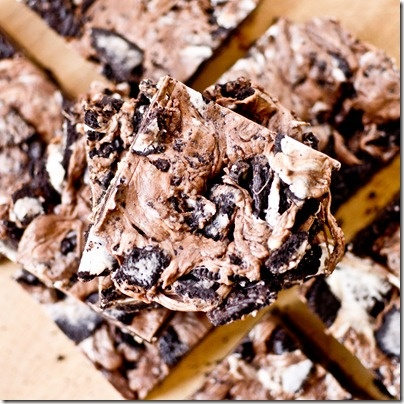 """Chewy No-Bake """"Thin Mint"""" Bars"""