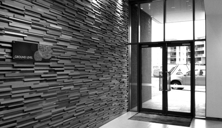 Designer Feature Wall. Stack Panel Australia.