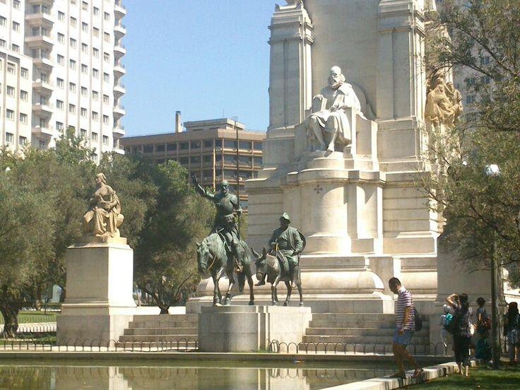 Cervantes - plaza de España