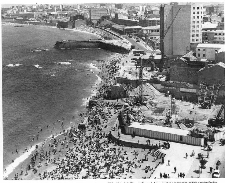 Playa de Riazor - Avenida Rubine