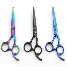 Ciseaux de coiffure Kit Coiffure Coupe De Cheveux Ciseaux Cheveux Professionnel Ciseaux Cheveux Ciseaux À Effiler Barber Salon Outils(China (Mainland))