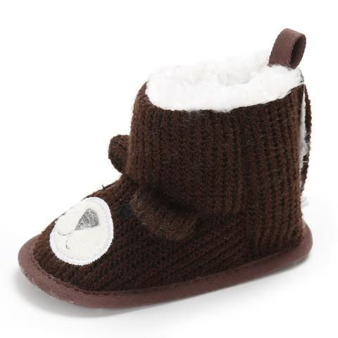 421159a017d Winter Baby Crib Shoes Soft Sole Plus Velvet Baby First Walkers Cartoon  Newborn Infant Girl Shoes Toddler Boy Booties From Touchy Style Outfit  Accessories.