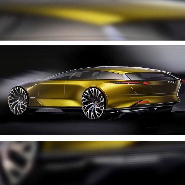 "107 Likes, 5 Comments - Robert Galicia (@pistonsound) on Instagram: ""Audi wagon - production style sketch . . . . #audi #wagon #artcenter #hatchback #vw #photoshop…"""
