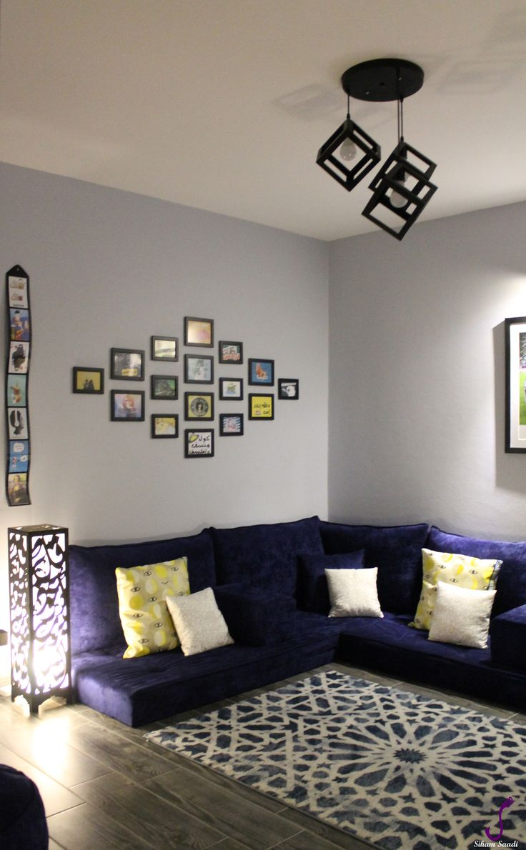 Rental Home Decorating Ideas: Modern Arabic Majlis- Designed By
