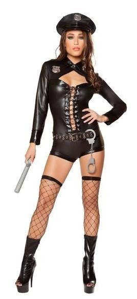 Sexy Code 4 Police Costume