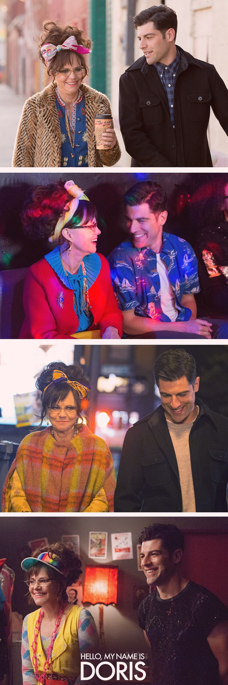 Life is a series of magic moments. Catch a glimpse of Doris Miller's life in 'Hello, My Name Is Doris', starring Sally Field and Max Greenfield. | #hellomynameisdoris is now available on Blu-ray