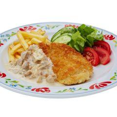 Еда навынос - Сеть ресторанов «Васильки»