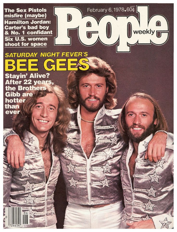 People magazine, February 6, 1978 — The Bee Gees