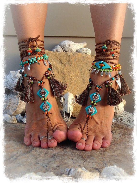 Hoi! Ik heb een geweldige listing op Etsy gevonden: https://www.etsy.com/nl/listing/252207414/reserved-pocahontas-barefoot-sandals