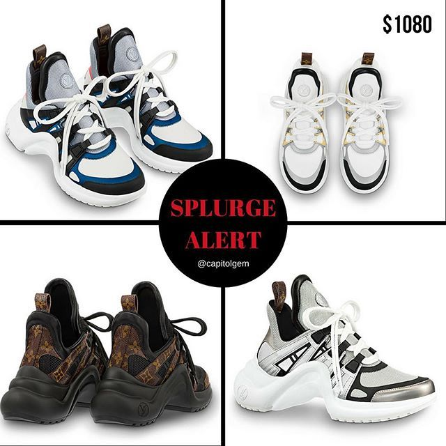 a721821c5715  SplurgeAlert  BUY or NAH  LV Archlight Sneakers I see these shoes on a lot  of celebrities and fashion influencers would they wear them if they werent  ...