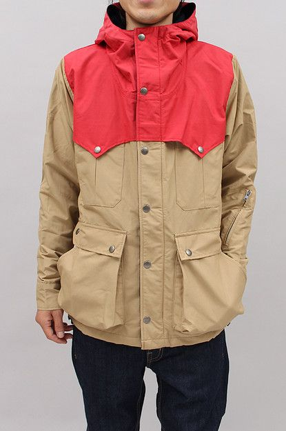 stylish parka, from Lands' End