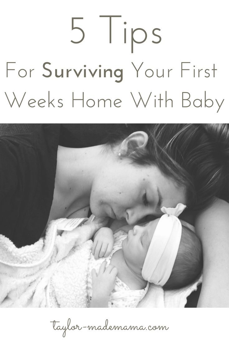 The first few weeks with your new baby are really tough! Here are one mom's top tips for making the first weeks with a newborn baby easier.