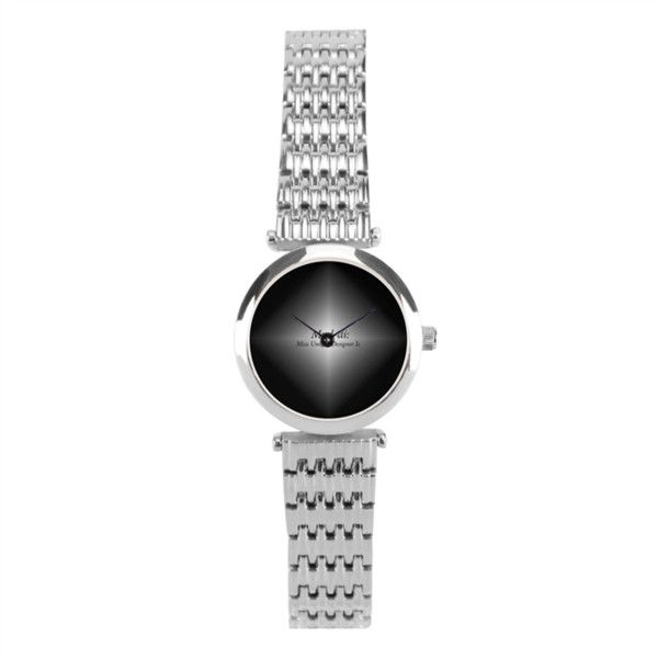 Silver Muddi Icon Watch Silver Women's Stainless Steel Wrist Watch |... ($74) ❤ liked on Polyvore featuring jewelry, watches, formal watches, silver watches, stainless steel wrist watch, digital watches and digital wristwatch