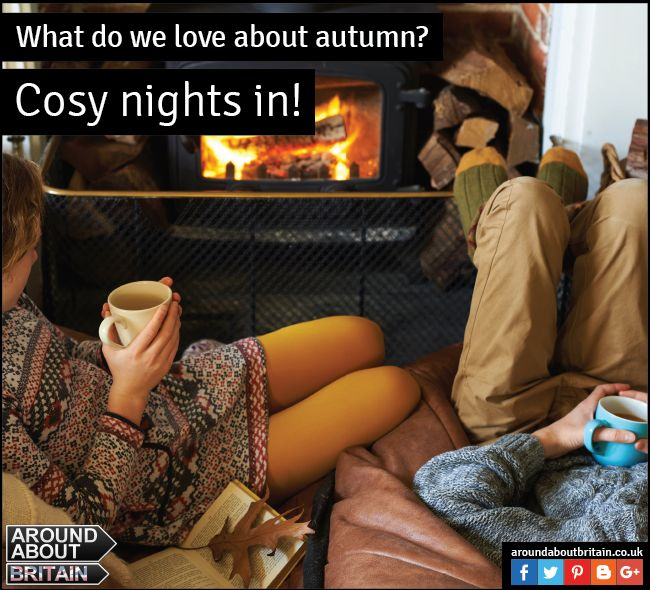 What do we love about Autumn? For those cosy nights up with a hot chocolate by the fire!  #HotChocolate #WinterWarmer #AutumnNight #Cosy #Britain