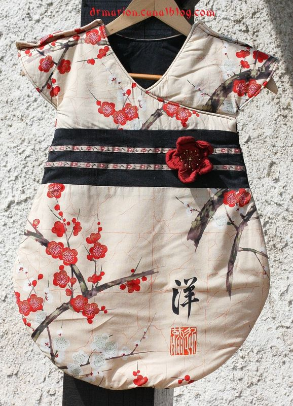 La gigoteuse façon kimono d'Agathe