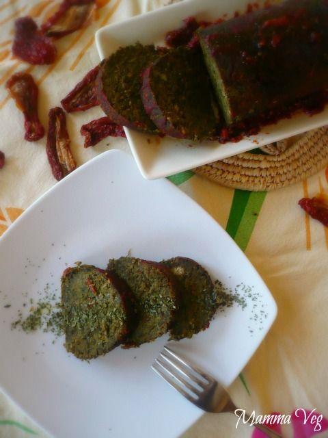 Mamma Veg: Polpettone di ceci e spinaci