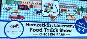 Food Truck Show - Kincsem Park