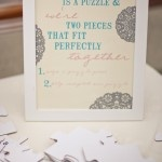 Wedding puzzle - guestbook ideaGuestbook Ideas, Guest Book